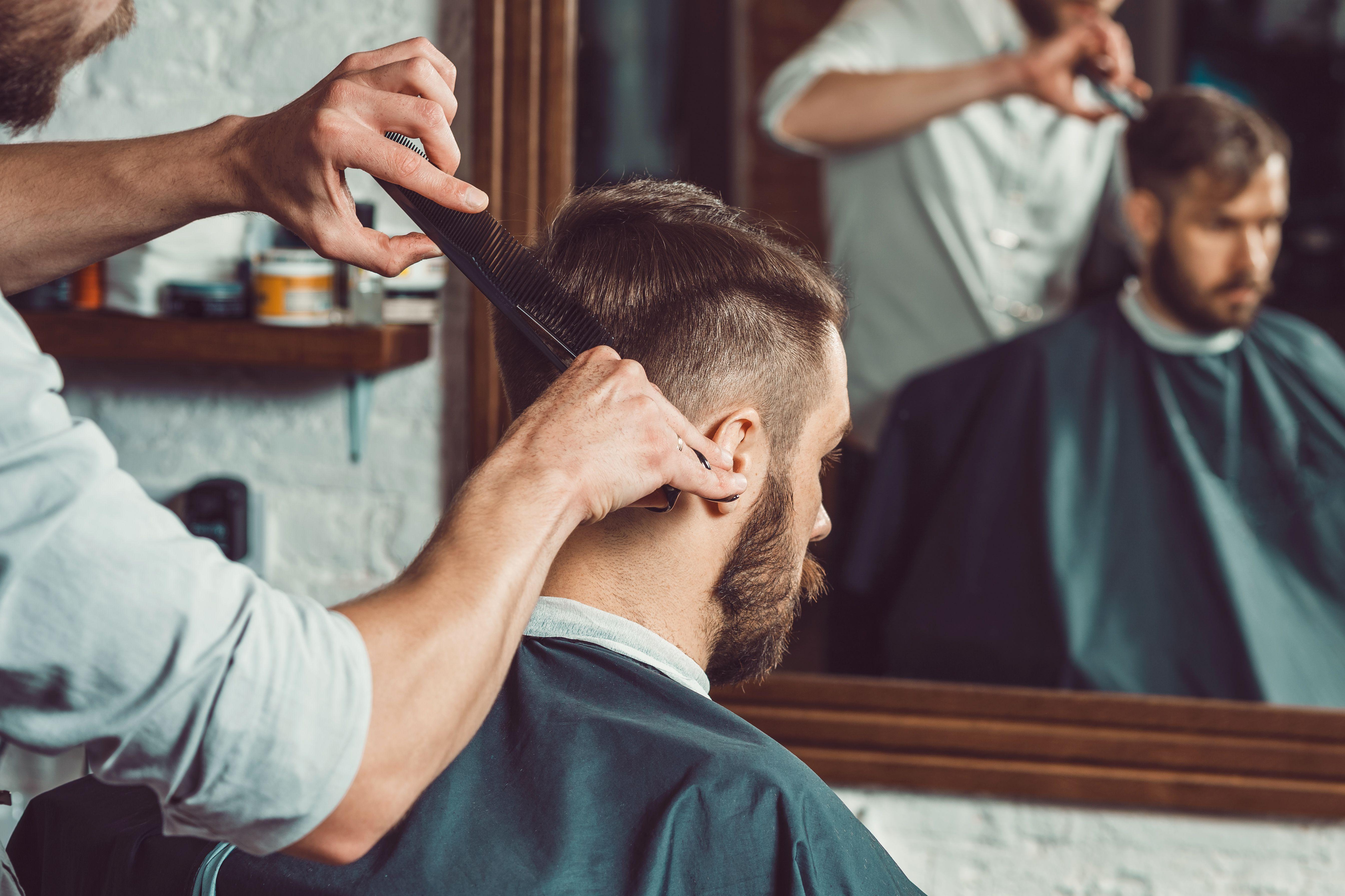 Corte de pelo para hombre en Barcelona