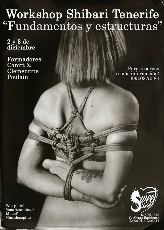 Workshop de Shibari En Sweet Sin