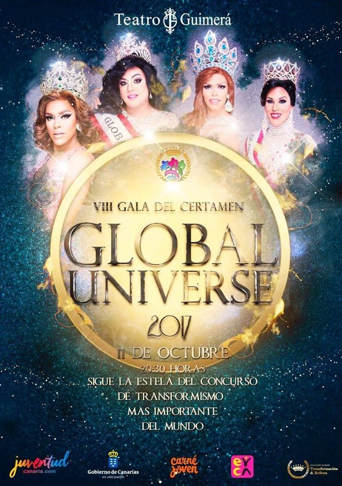 Nuevo patrocinio Sweet Sin en Global Universe Transformacion y Belleza