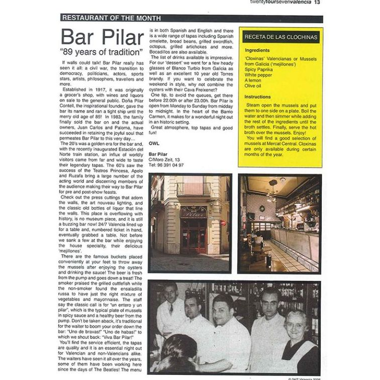 Historia de La Pilareta