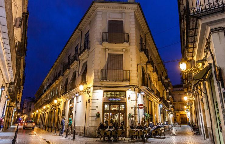 Bar de tapas en el barrio del Carmen de Valencia