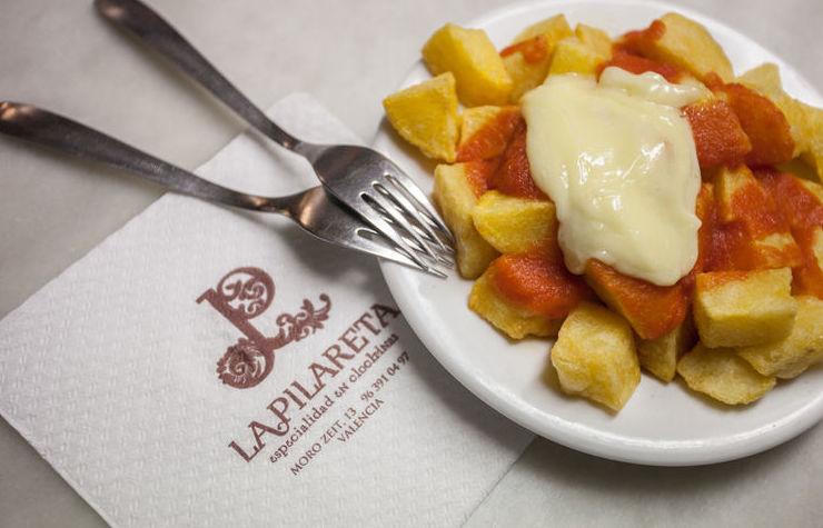 Patatas bravas en Valencia