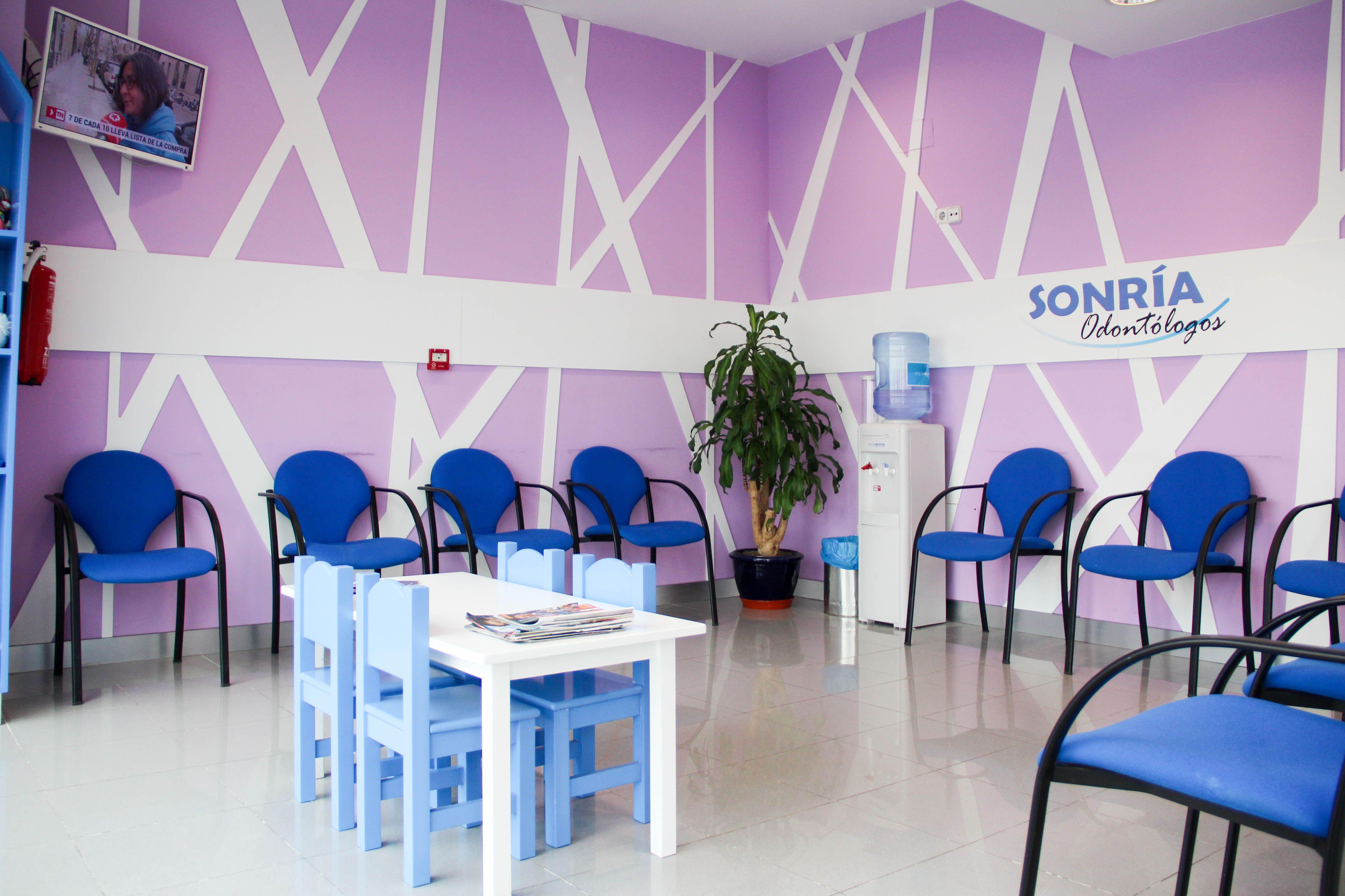 Sala de espera de nuestra clínica dental