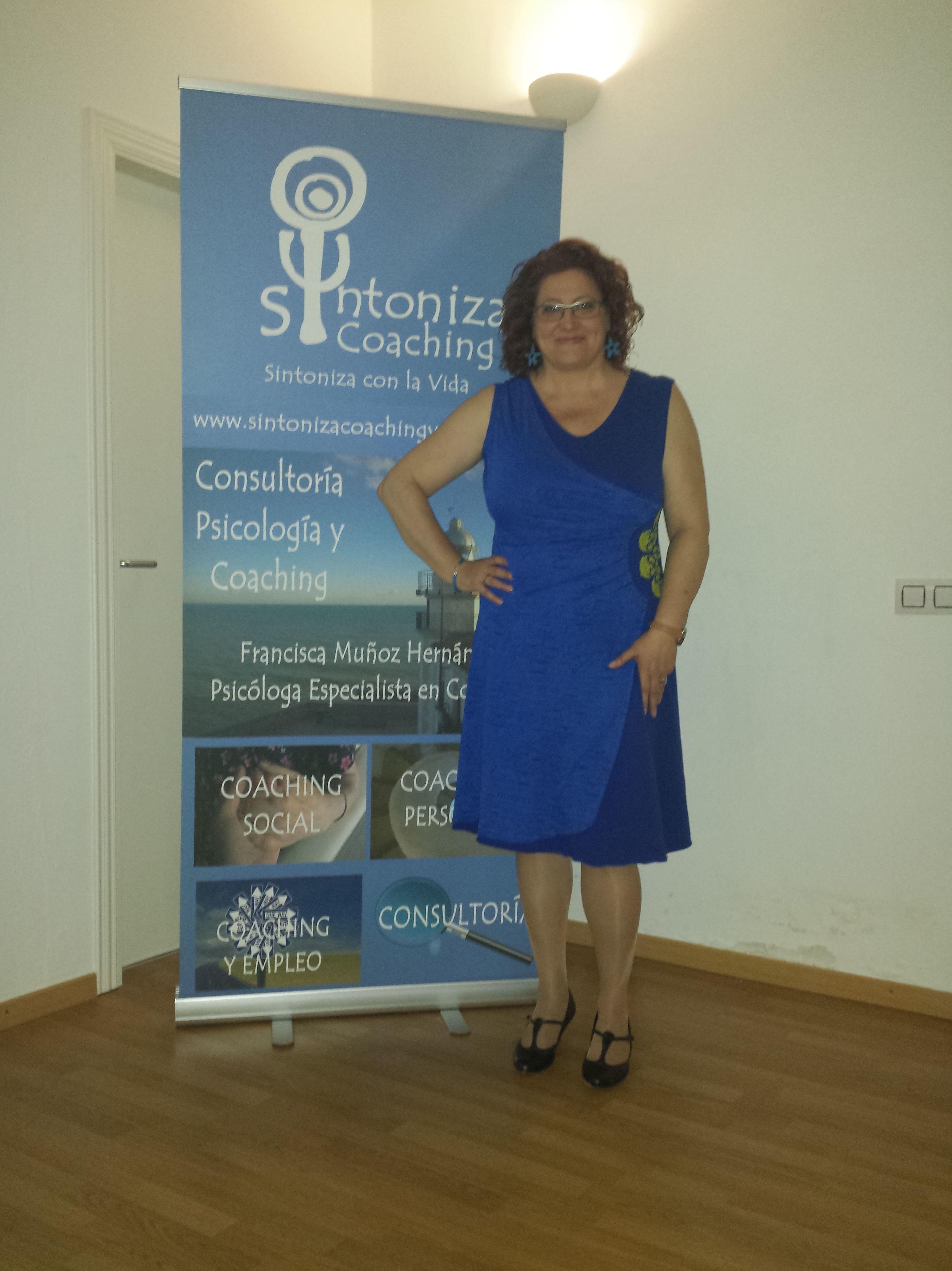 Francisca Muñoz Hernández, Psicólog Especialista en Coaching en Sintoniza Coaching, Valencia