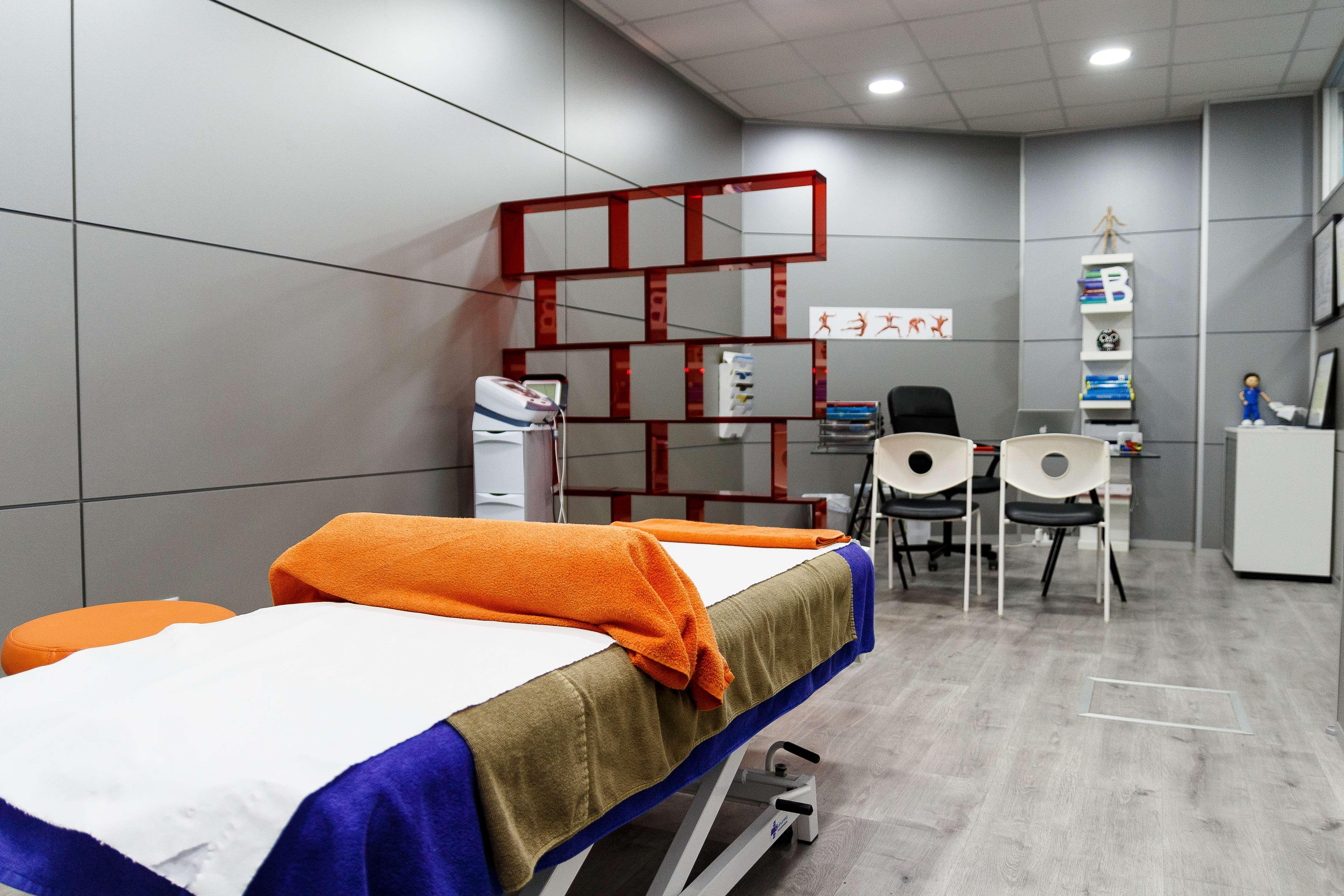 Sala para tratamientos de fisioterapia
