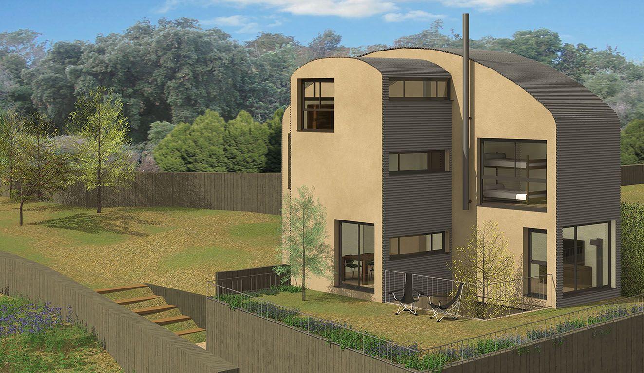 Casas tipo T: Casas ecoeficientes de Bonafont