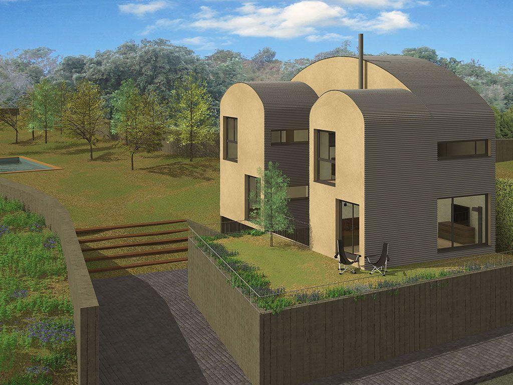 Casas tipo U: Casas ecoeficientes de Bonafont