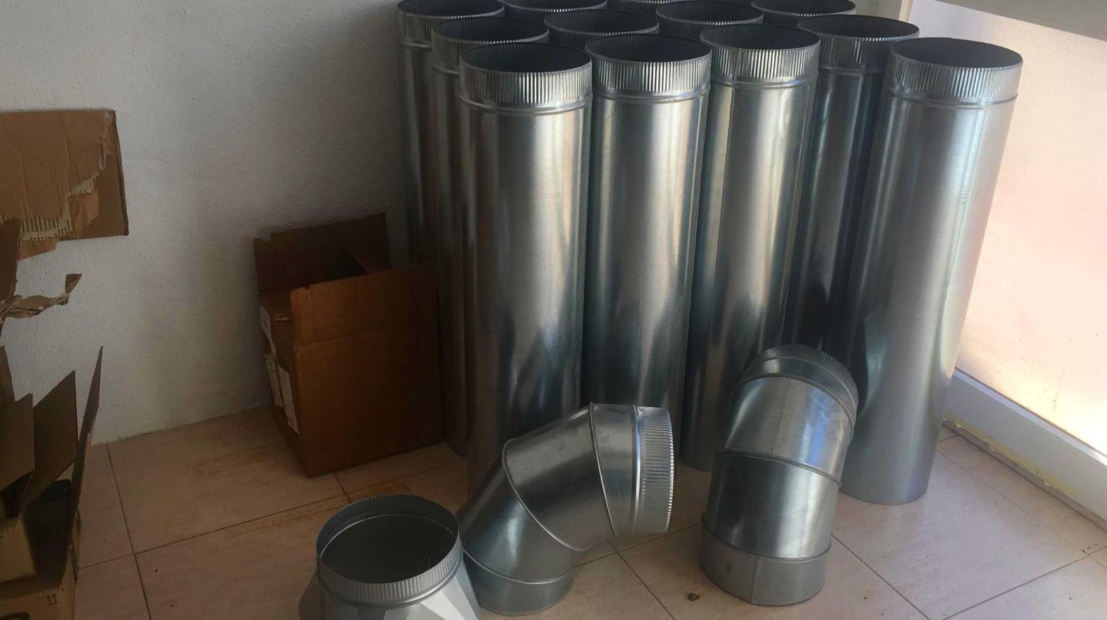 Limpieza e instalación de extracciónes de ventilación: Servicios que prestamos de Innovaex