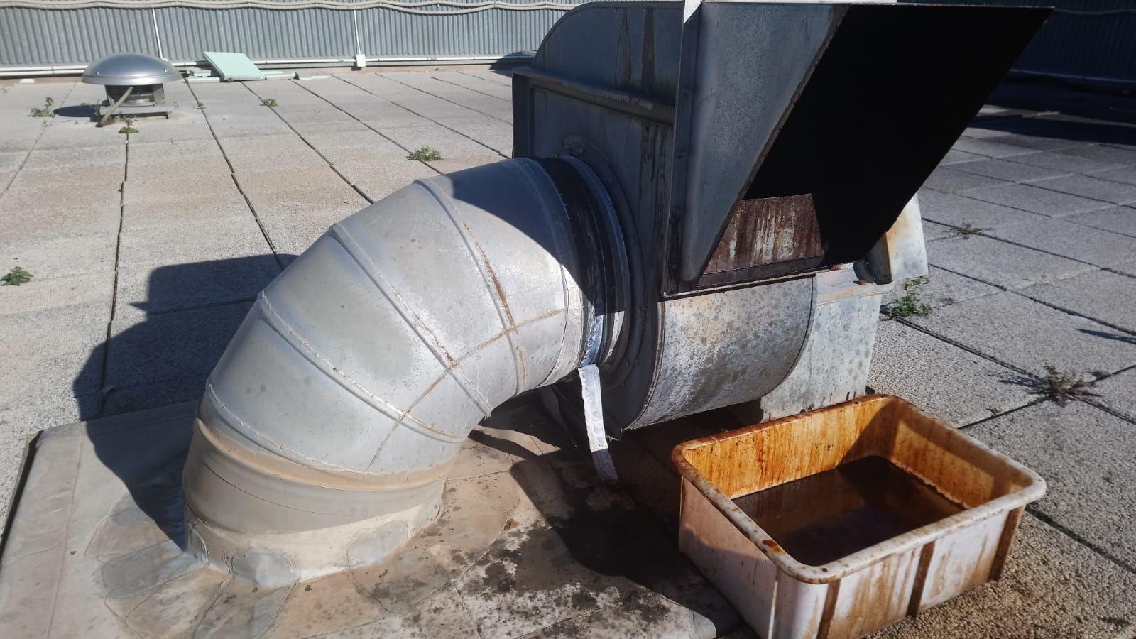 Limpieza de extractores de cocina industrial en Valencia