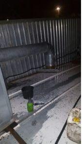 Limpieza en exteriores, azoteas, o cubiertas de centros comerciales