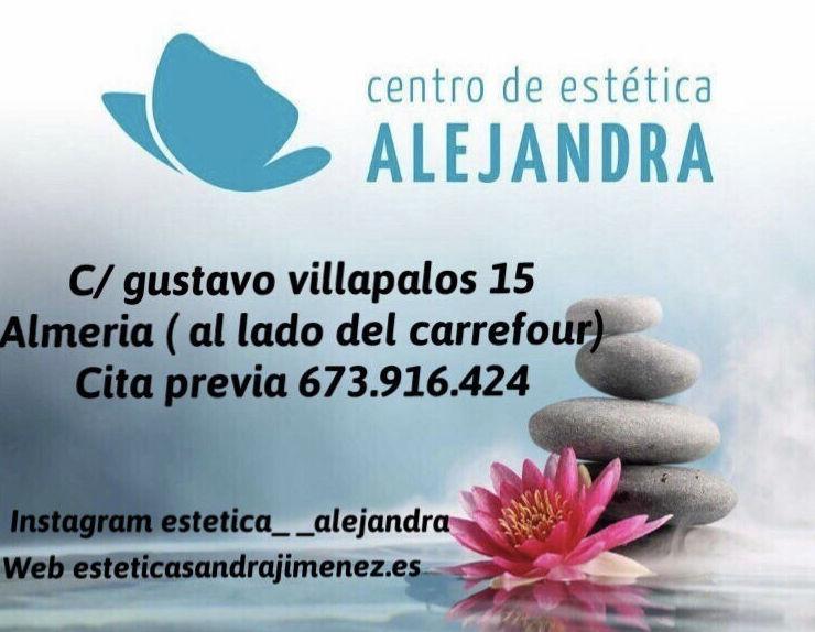 Foto 1 de Centro de estética unisex en Almeria | Centro de Estética Alejandra