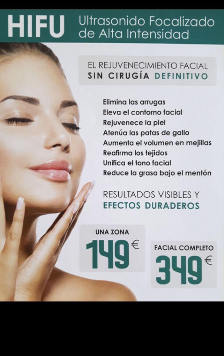 Tratamiento facial hifu