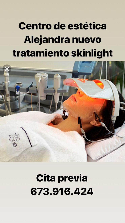 Skinglih : Servicios de Centro de Estetica Alejandra