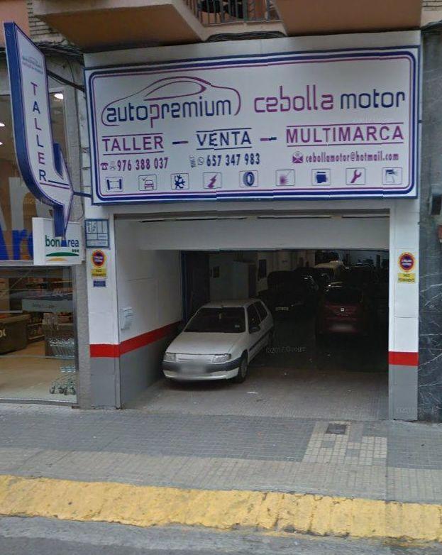 Foto 1 de Taller mecánico en Zaragoza | Autopremium Cebolla Motor