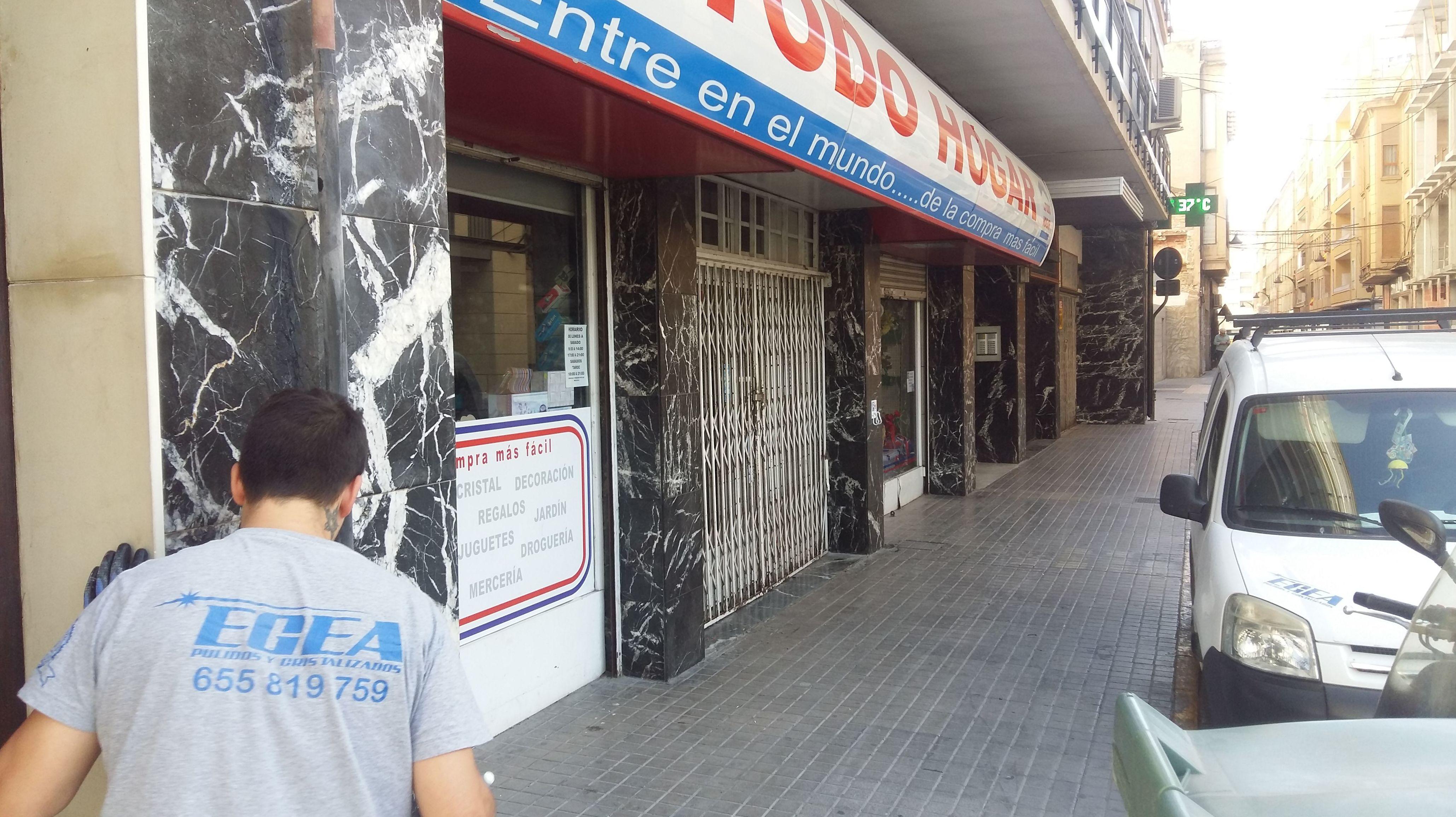 Foto 9 de Cristalizados en Alicante | Pulidos Egea