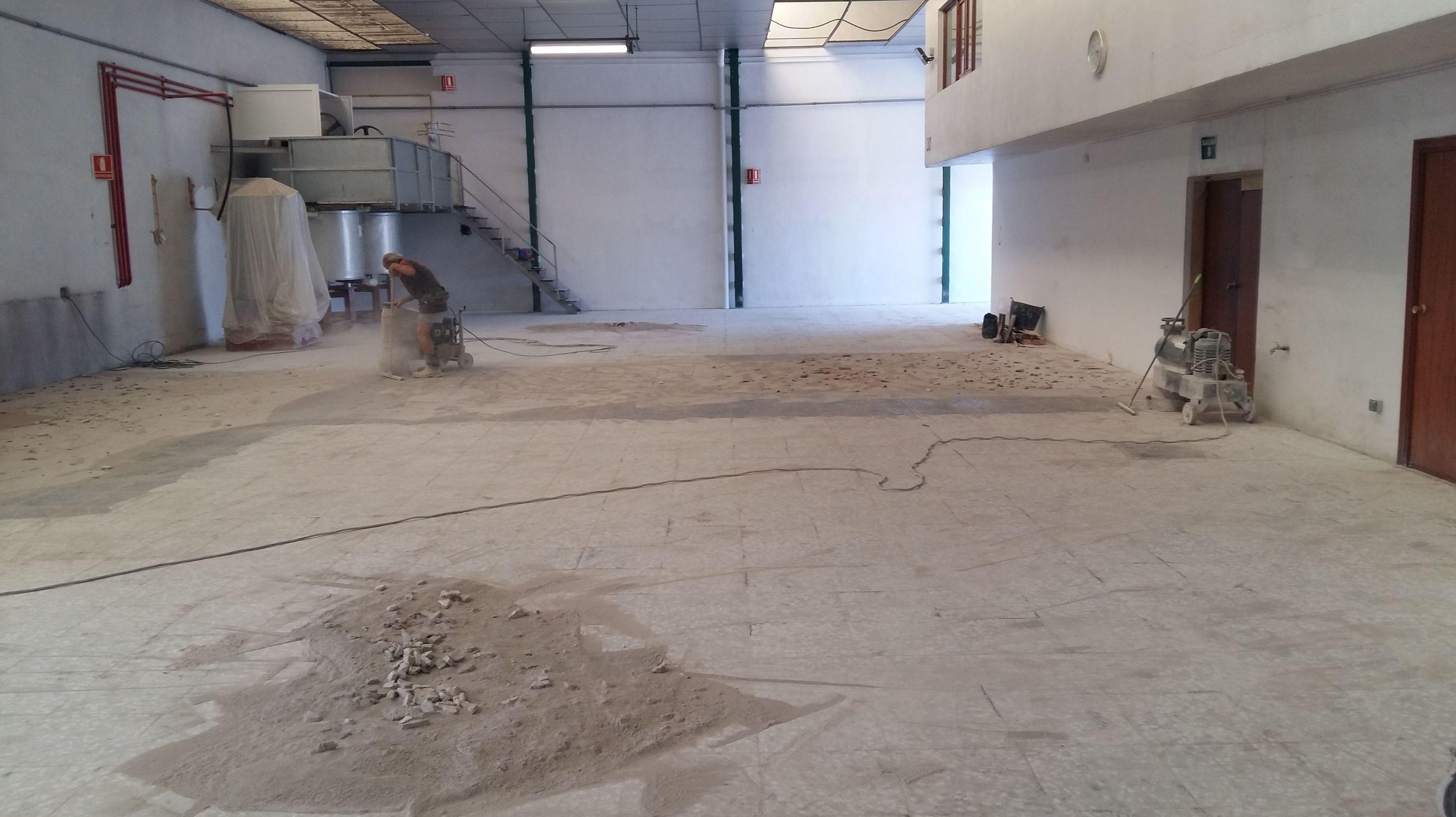 preparación de terrazo para resinado: Servicios  de Pulidos Egea