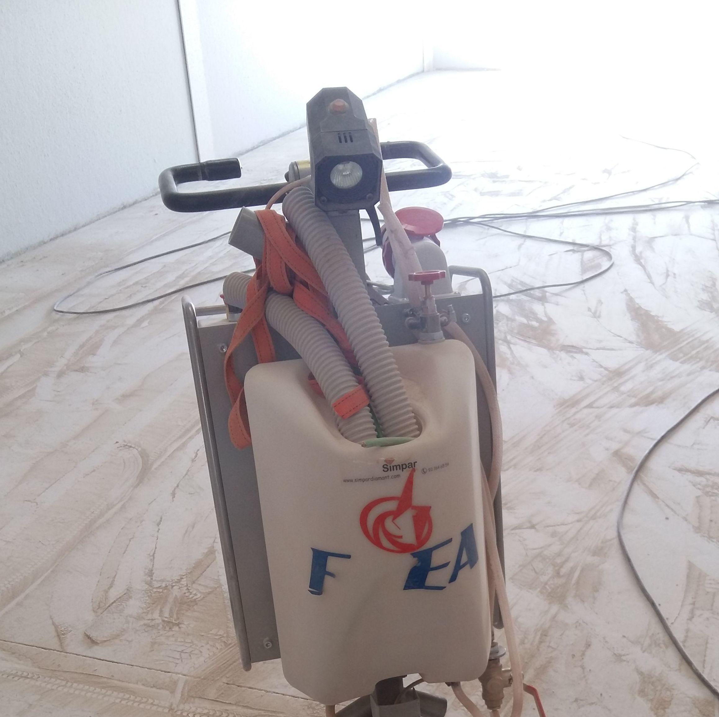 Preparación de hormigon: Servicios  de Pulidos Egea