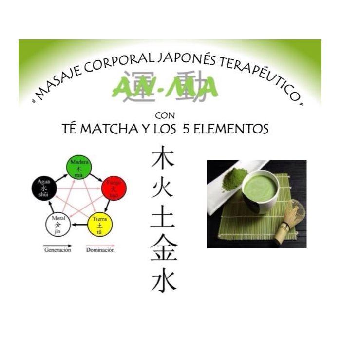 Masaje con té Matcha y los 5 elementos: Servicios de Ioana Centro de Estética