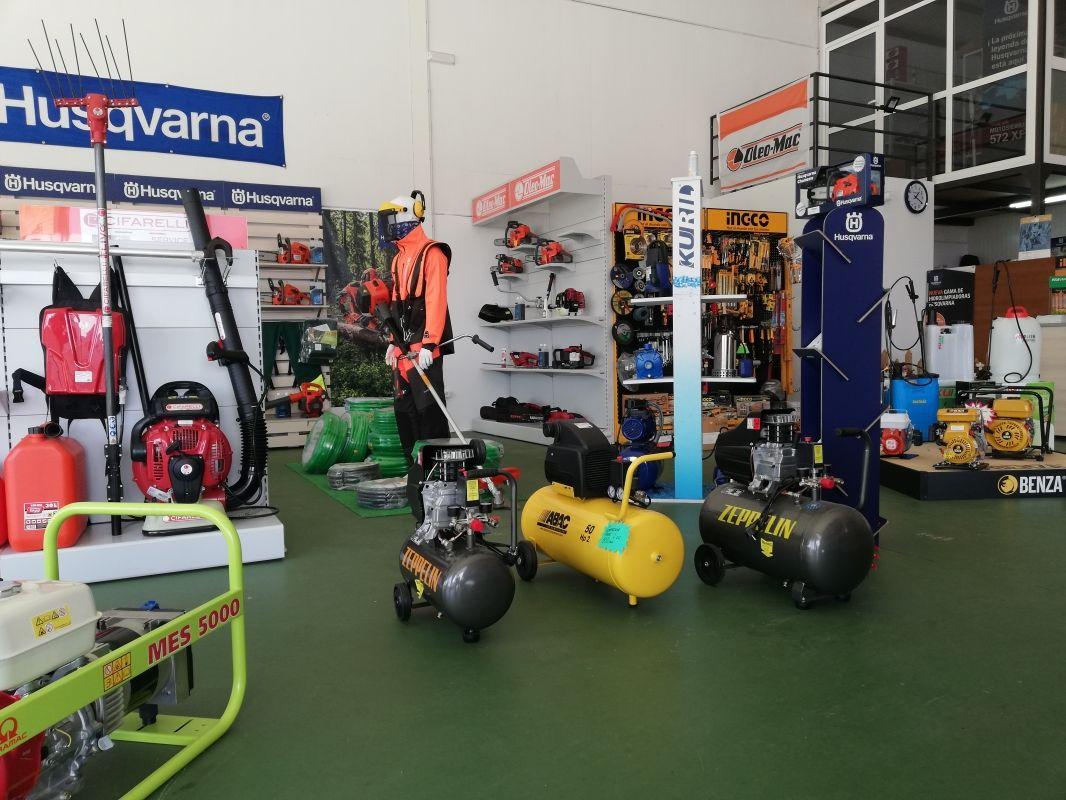 Herramientas y máquinas para jardinería en Zafra