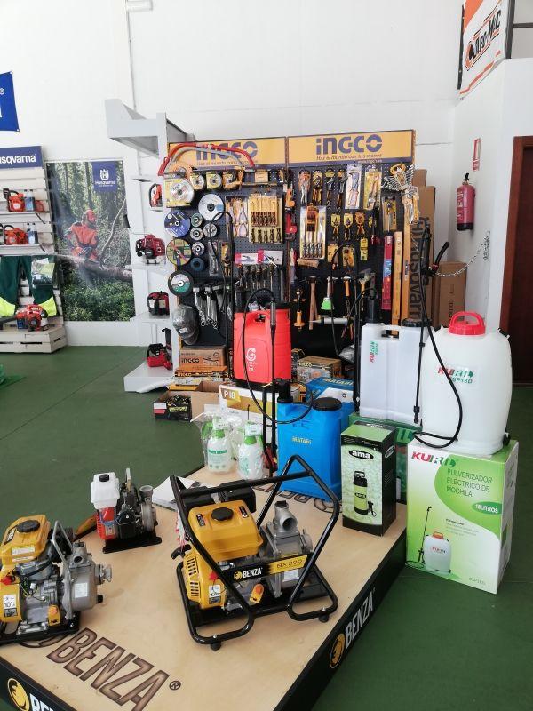 Máquinas para el sector agrícola en Zafra