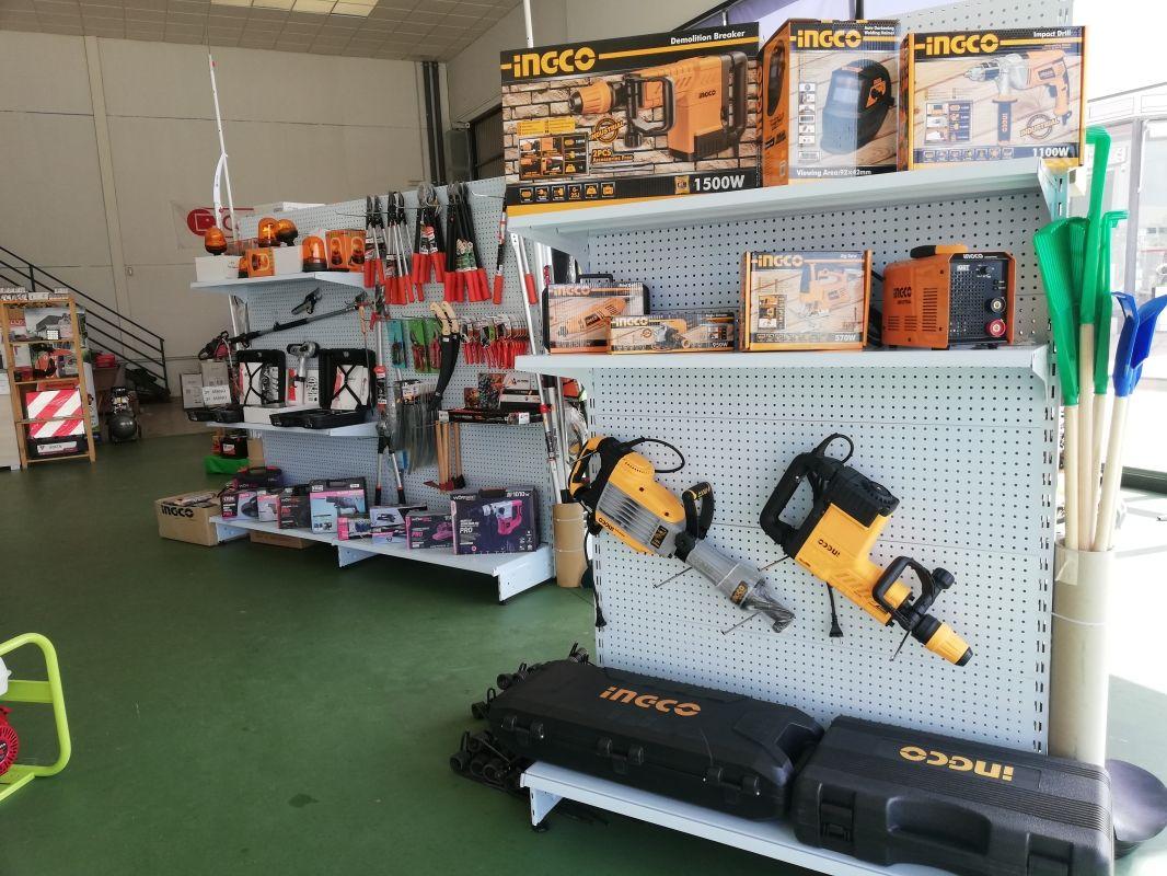 Máquinas y herramientas para jardinería en Zafra