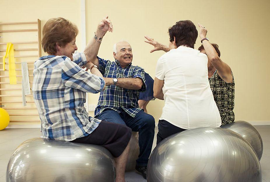Prevención del deterioro físico de personas mayores en Tenerife