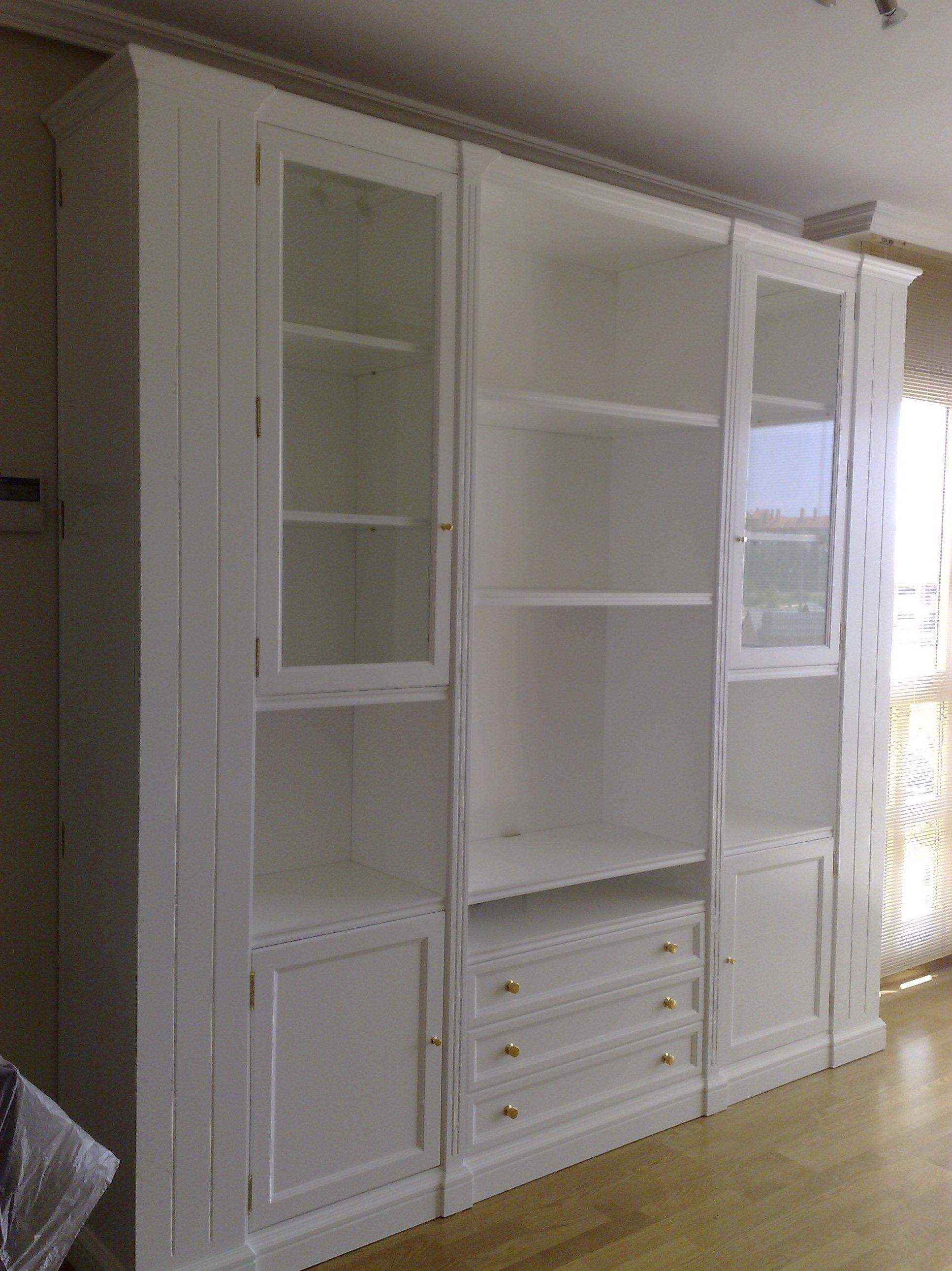 Muebles de salón lacados
