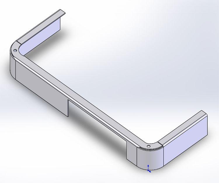 Modelo de una pieza preparada en 3D para usar en un ensamblaje