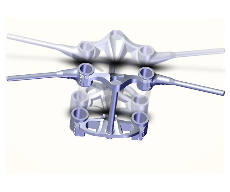 Modelo 3D creado de 3D SWPRO