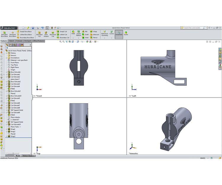 Visualizar un prototipo de chasis nuevo con diferentes dimensiones al cliente para tener idea de producto final.