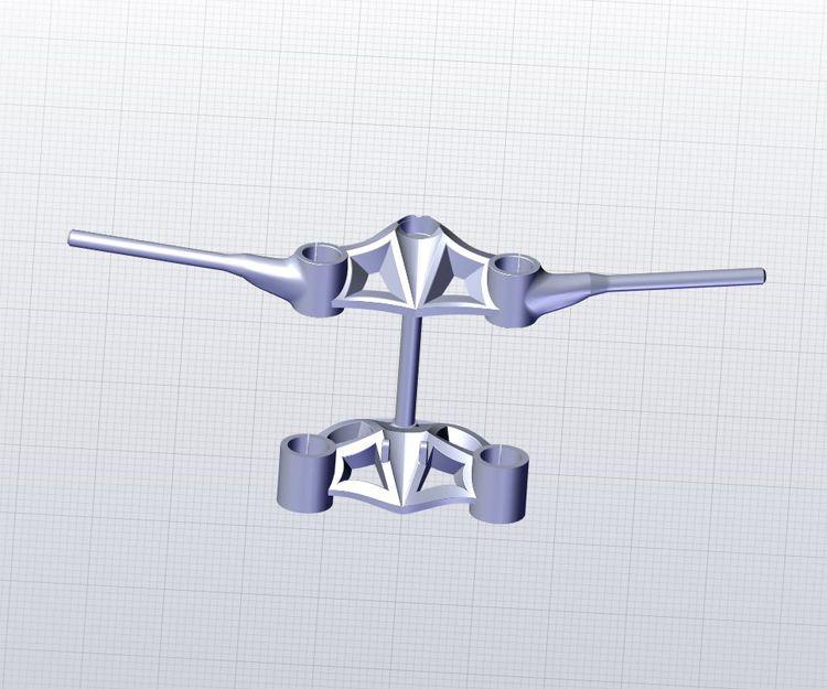 Prototipo listo para sacar las medida para fabricar