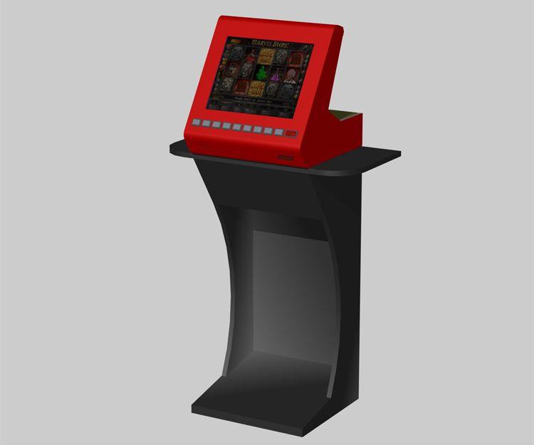 Presentar un modelo 3D a una nueva máquina recreativa