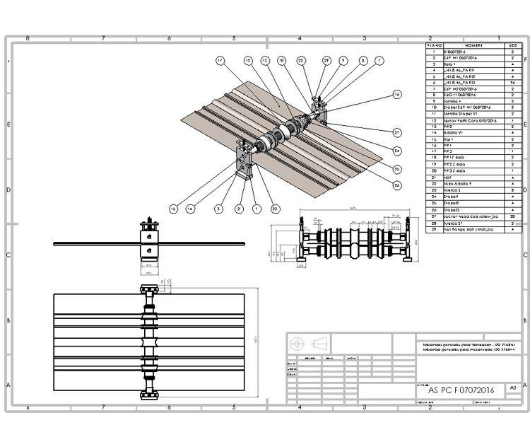 Plano que se usa de manual o se da al fabricante al momento de fabricar el producto final