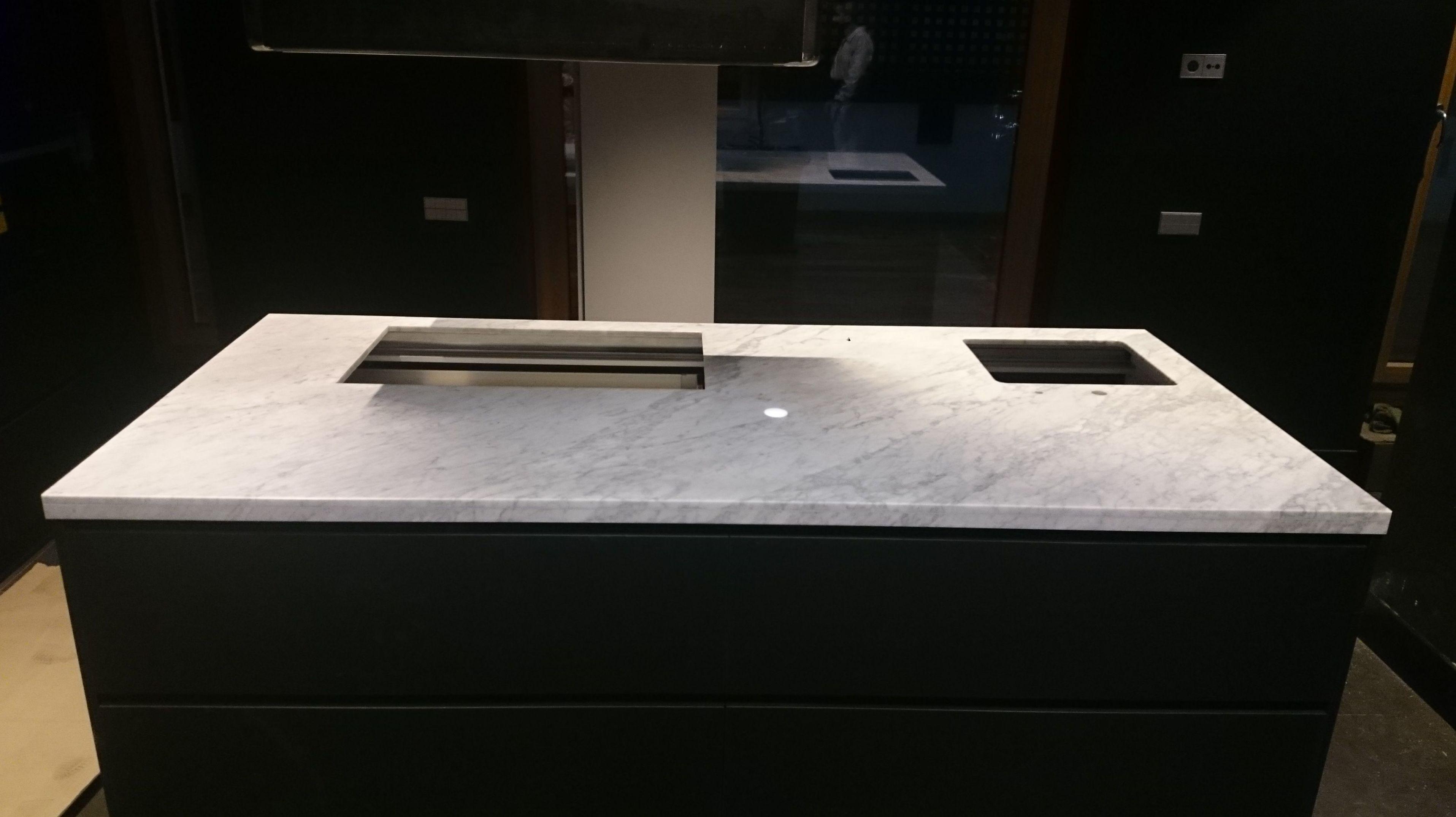 Encimera marmol Carrara