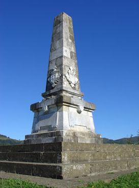 Monolíto en granito  en Navarra