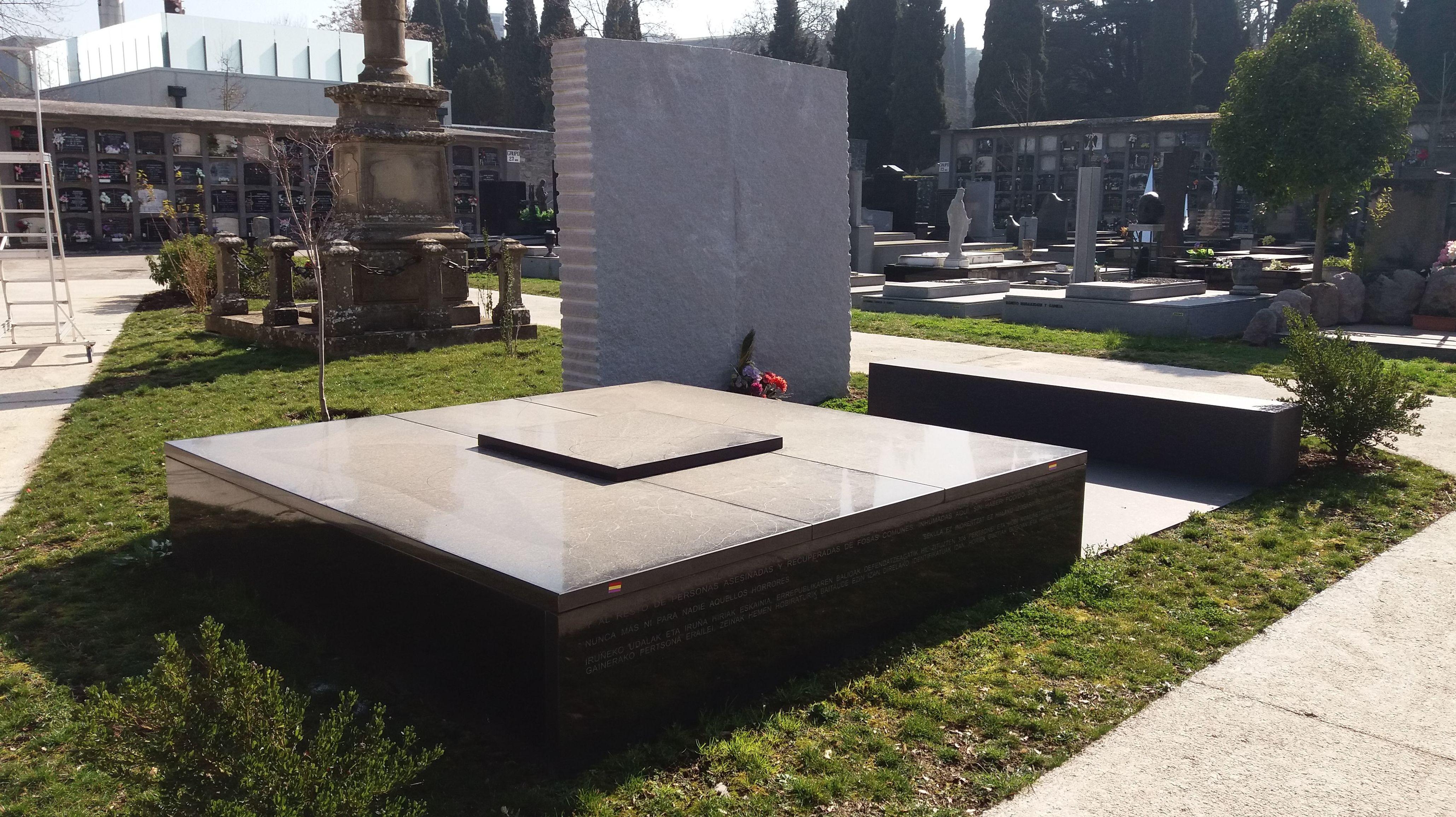 Trabajos de cementerio