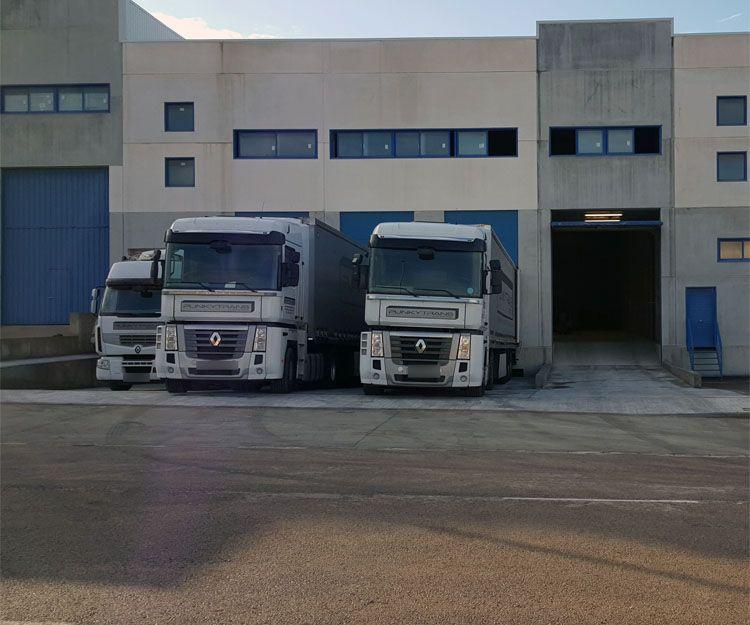 Camiones de reparto