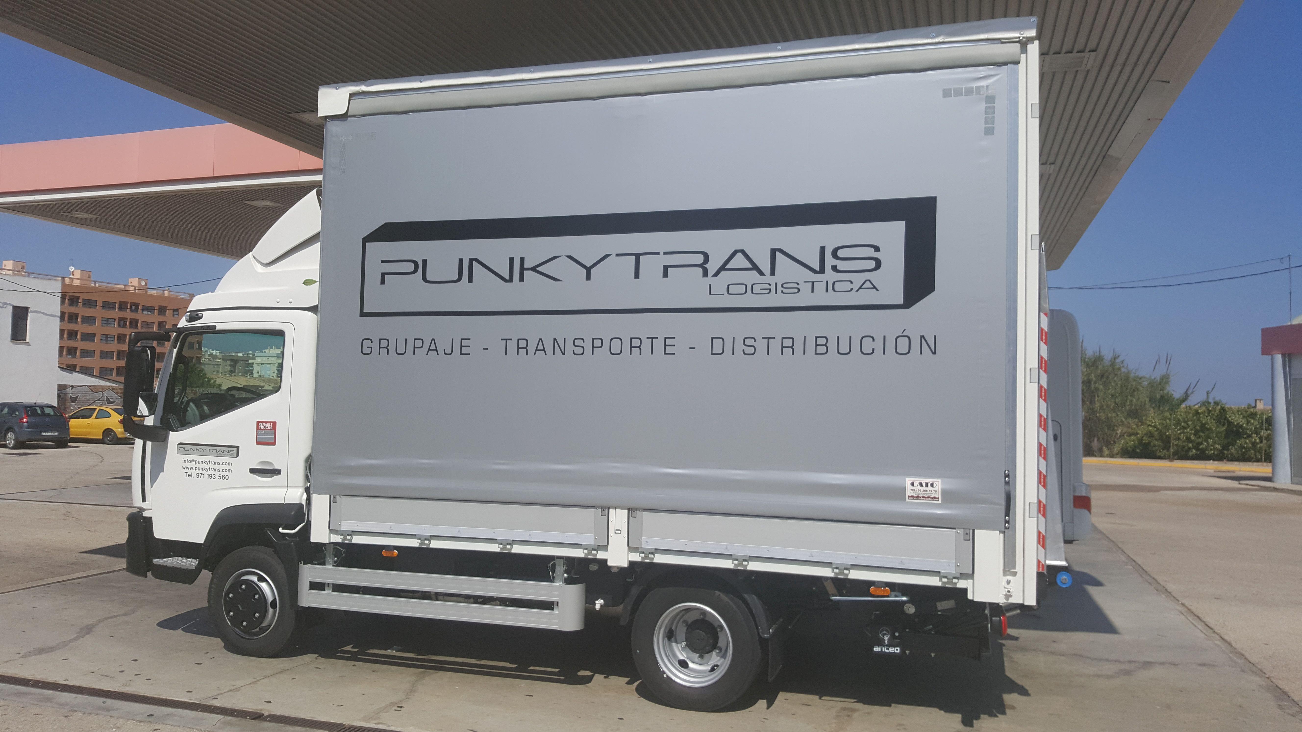 Grupaje: Servicios de Punkytrans S. L.