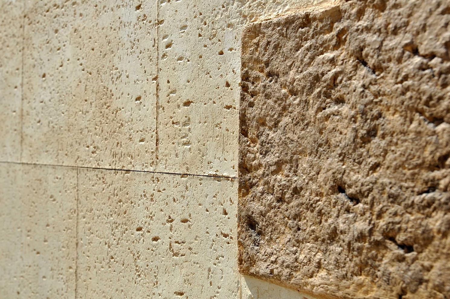 Material para revestimiento de fachadas, en La Bañeza, León