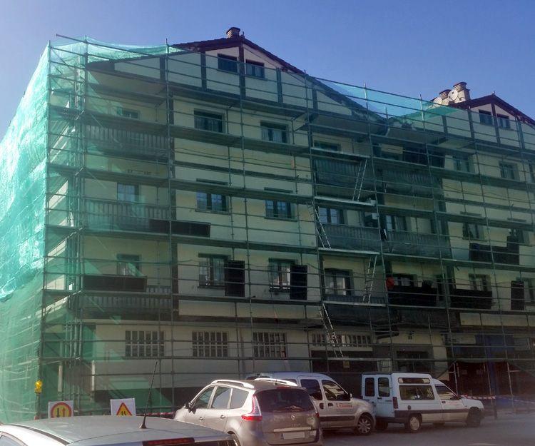 Restauración de fachadas en Navarra