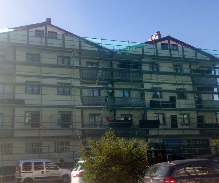 Rehabilitación de fachadas en Navarra
