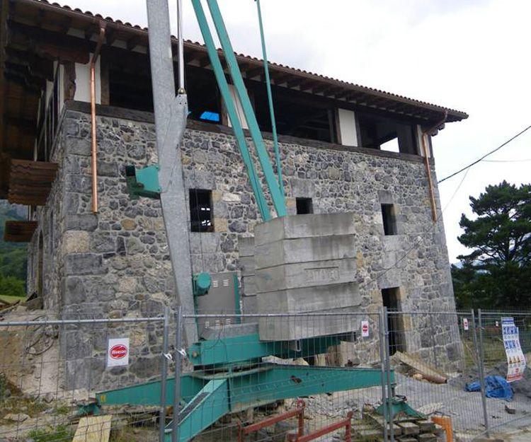 Rehabilitación de caseríos abandonados o deteriorados en Navarra - Después