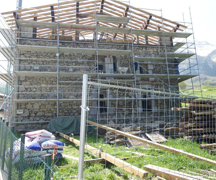 Rehabilitación de caseríos abandonados o deteriorados en Navarra