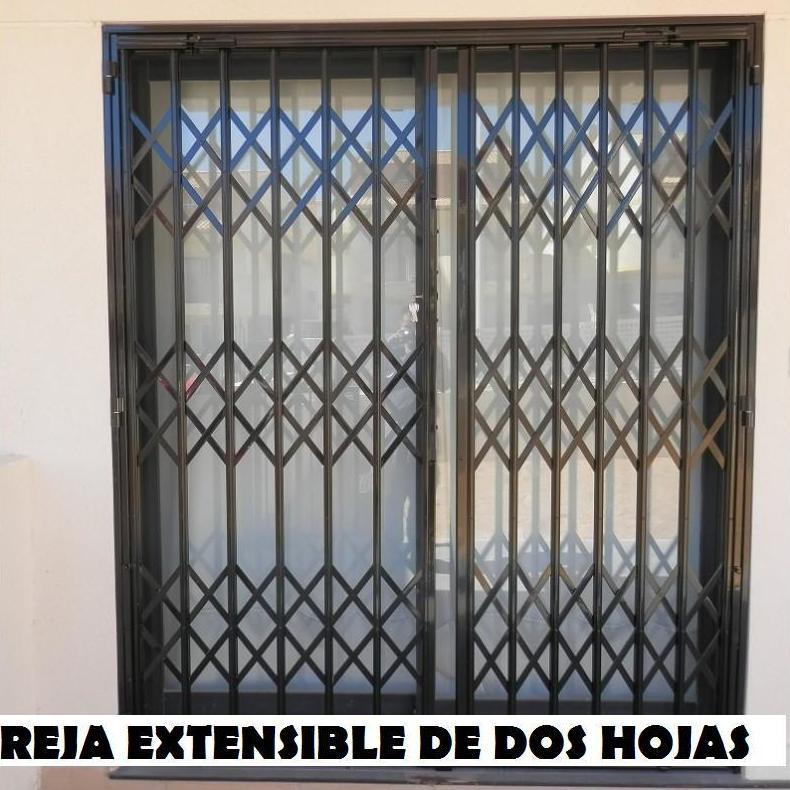 TIPOS DE REJAS: Servicios de Exposición, Carpintería de aluminio- toldos-cerrajeria - reformas del hogar.
