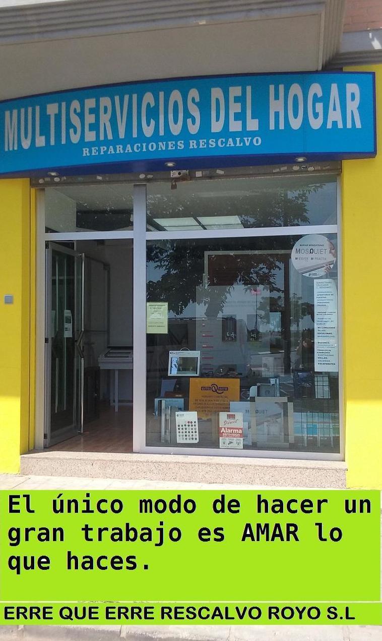 Foto 1 de Carpintería de aluminio, metálica y PVC en    Exposición, Carpintería de aluminio- toldos-cerrajeria - reformas del hogar.