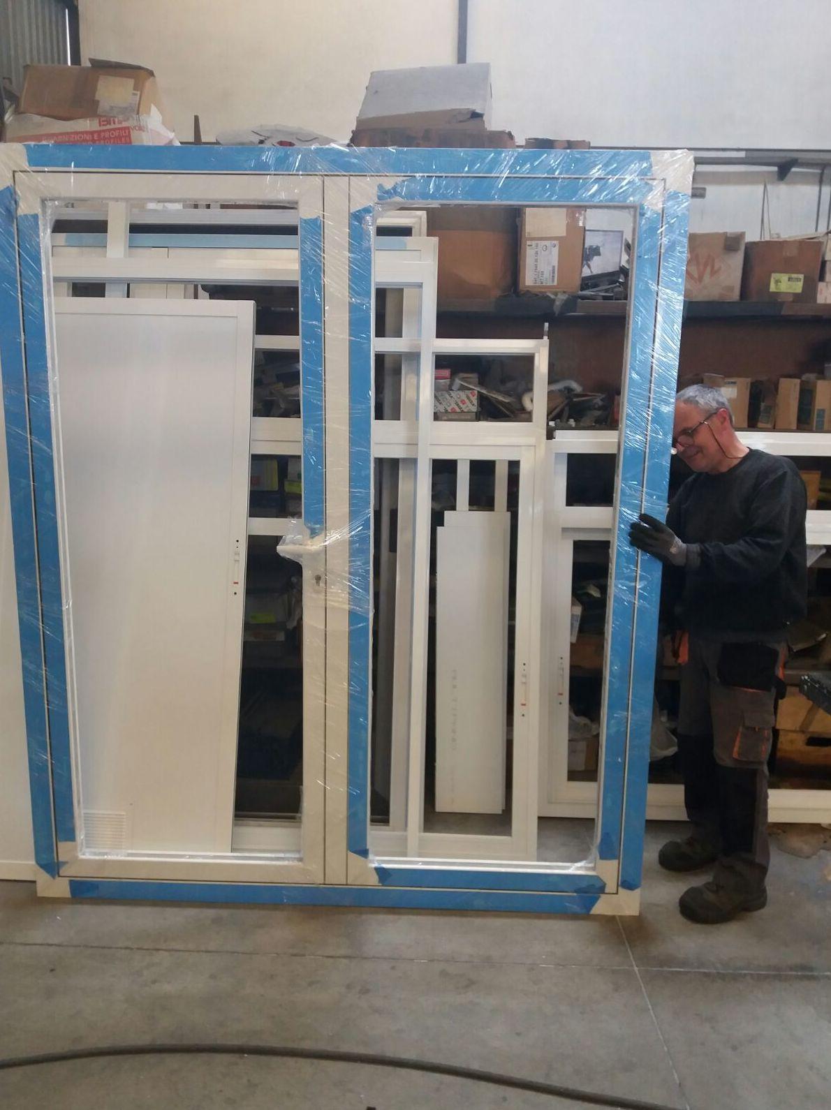 Fabricación propia de ventanas de aluminio