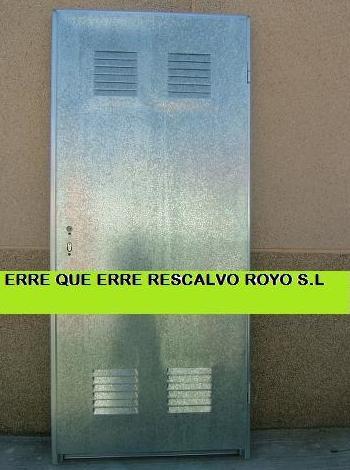 PUERTAS DE TRASTEROS: Servicios de Exposición, Carpintería de aluminio- toldos-cerrajeria - reformas del hogar.