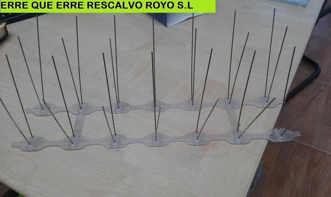 PINCHOS ANTIPALOMAS ( AVES): Servicios de Exposición, Carpintería de aluminio- toldos-cerrajeria - reformas del hogar.