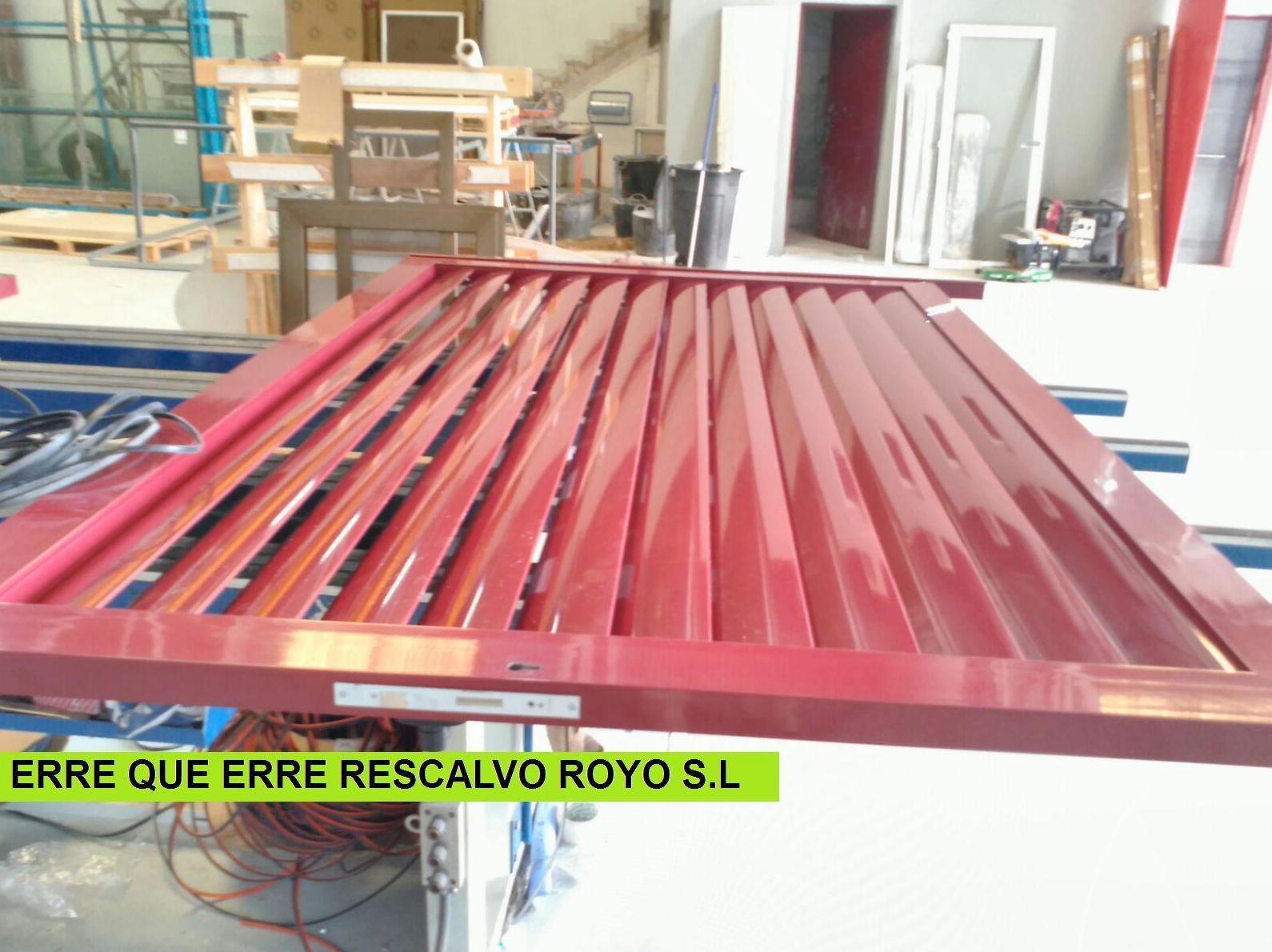 CELOSIAS: Servicios de Exposición, Carpintería de aluminio- toldos-cerrajeria - reformas del hogar.
