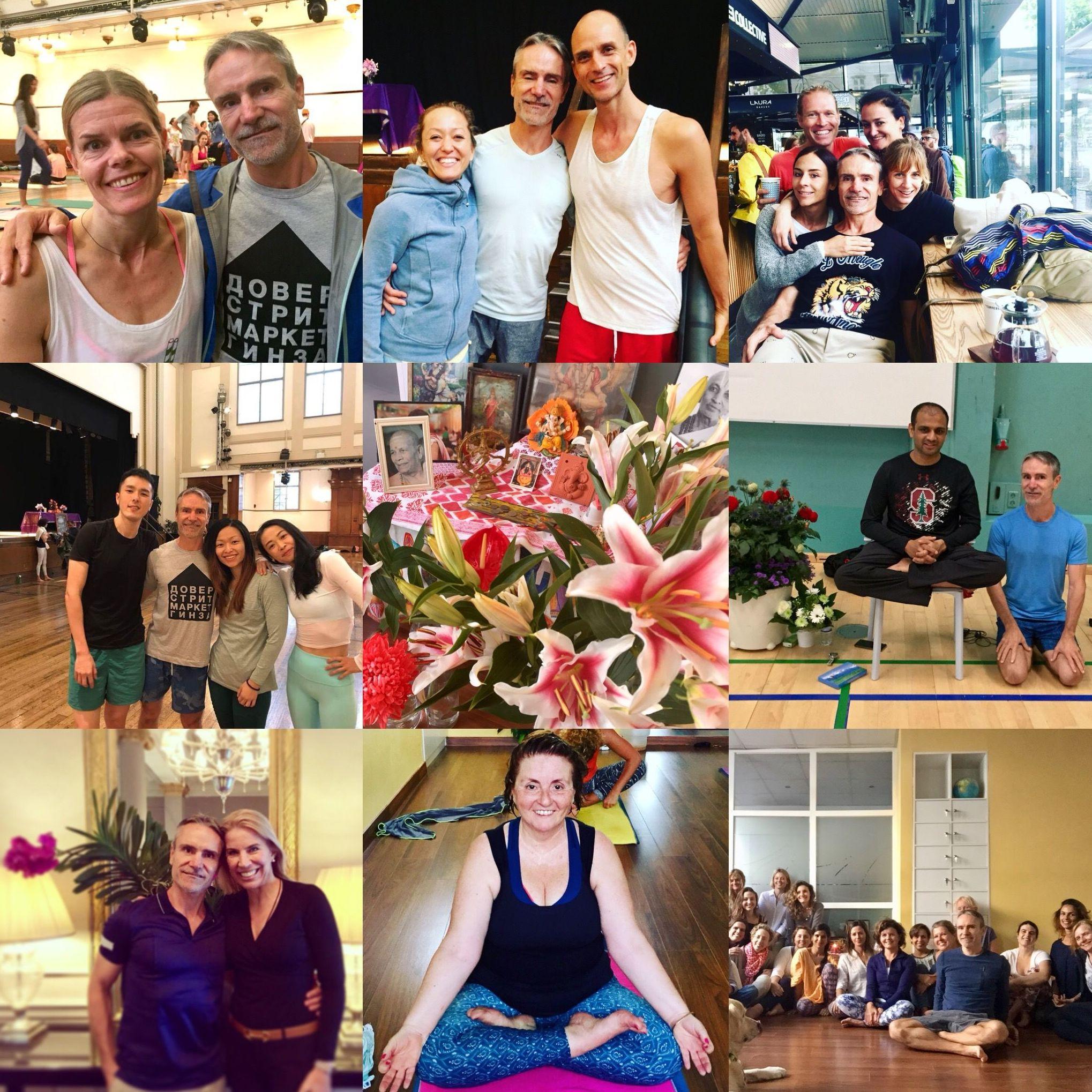 Cursillos de iniciacion Ashtanga Yoga para principiantes en Palma cada mes, febrero dias 14 y 16